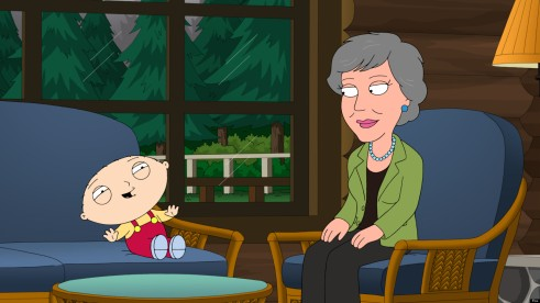 "FAMILY GUY: Stewie and Brian become obsessed with singer Anne Murray (guest-voicing as herself) in the all-new ""Chris Cross"" episode of FAMILY GUY airing Sunday, Feb. 17 (9:00-9:30 PM ET/PT) on FOX. FAMILY GUY ª and © 2013 TCFFC ALL RIGHTS RESERVED."