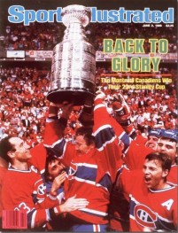 Montreal Canadiens Win Their 22nd Stanley Cup June 2, 1986 X 33133 credit: David E. Klutho - contract